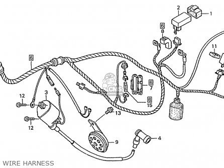 Honda Zn110r Nice Parts Lists And Schematics