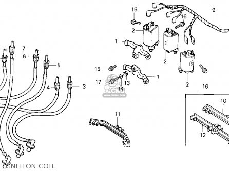 (30501-MN5-505) STAY,IGN COIL