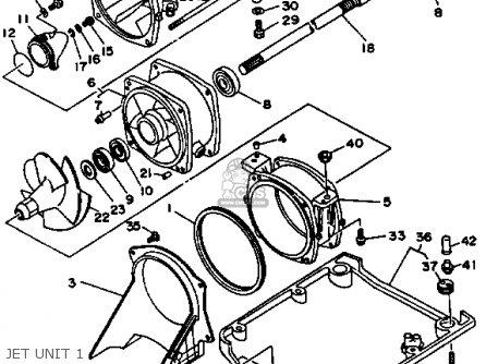 Nozzle Deflecor For Wrb650r 1993 Fn8 Waverunner