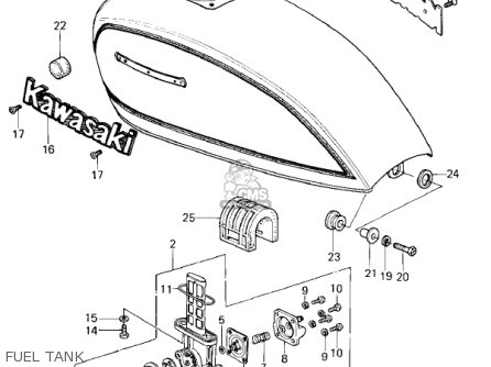kawasaki engine throttle linkage diagram