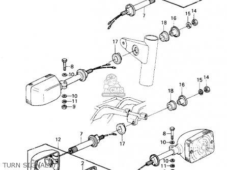Kawasaki 1981 Kz1300-a3 Turn Signals