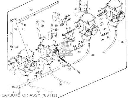 kawasaki 1981 kz750 h2 ltd parts list partsmanual partsfiche. Black Bedroom Furniture Sets. Home Design Ideas