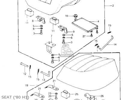 1981 Kawasaki Ltd Kz750 H2 Oem Starter Motorstarter Clutch 80