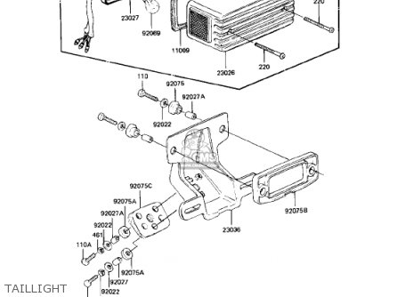 kawasaki 1982 kz750 n1 spectre parts list partsmanual partsfiche. Black Bedroom Furniture Sets. Home Design Ideas