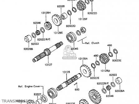 kawasaki gpz 750 chain