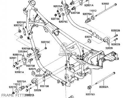 1986 Kx 250 Engine Diagram