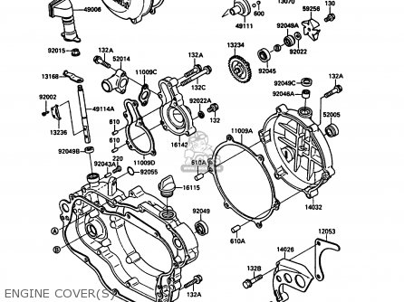 2002 Kawasaki Kx 125 Engine Diagram