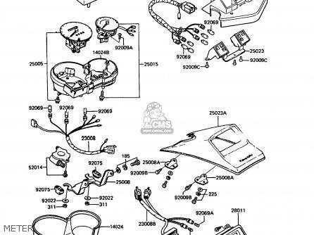 kawasaki 1985 b1 kx60 parts lists