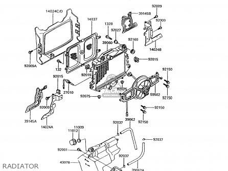 kawasaki 1992 b6 zg1200 north america radiator_mediumkae0351e3032_83a0 1981 yamaha maxim wiring diagram 1981 find image about wiring,Yamaha Xj 550 Wiring Diagram