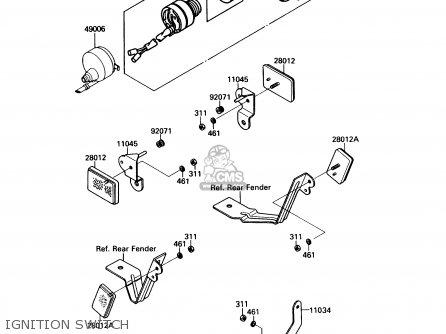 kawasaki 1993 a7 ksf250 north america parts list partsmanual partsfiche. Black Bedroom Furniture Sets. Home Design Ideas