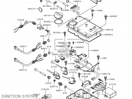 Kawasaki 1996 A2  Jh900 Ignition System