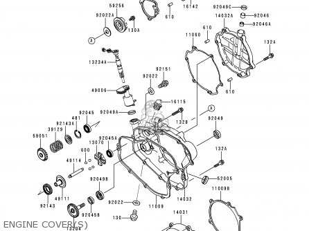 kawasaki waverunner engine diagram kawasaki x2 engine diagram kawasaki 1998 c1: kx100 (north america) parts list ...