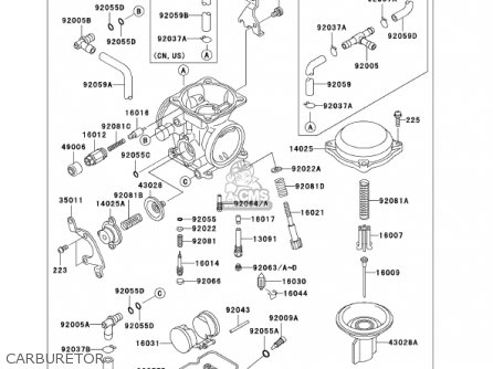 kawasaki klr 650 fuel system diagram