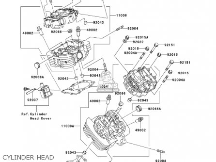 Kawasaki Vulcan 1500 Clic Engine Diagrams