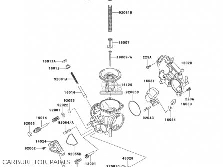 Kawasaki Vulcan Carburetor Assembly