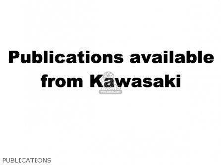 Kawasaki 2002 An110-c7 Publications