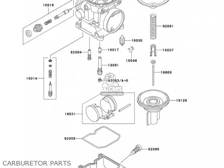 Kawasaki 2002 En500-c7 Vulcan 500 Ltd Carburetor Parts