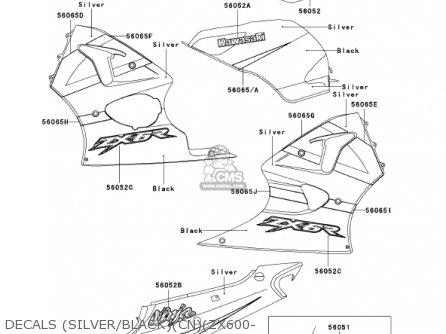 Kawasaki Ninja Vector besides 636 Rear Set moreover Partslist besides R Echappement moto tube inox also 118 Do Gaznika. on kawasaki ninja zx 6r