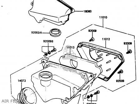 Kawasaki Ar50c4 1986 Europe Uk Gr Parts Lists And Schematics