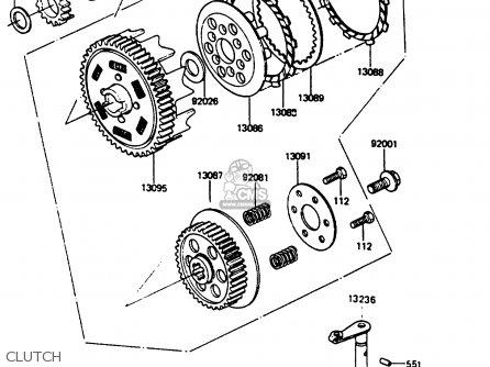 Dirt Bike Engine Parts Diagram