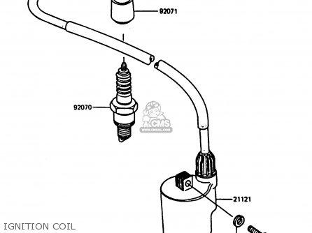 Kawasaki Ar80c5 1987 Usa   Mph Ignition Coil