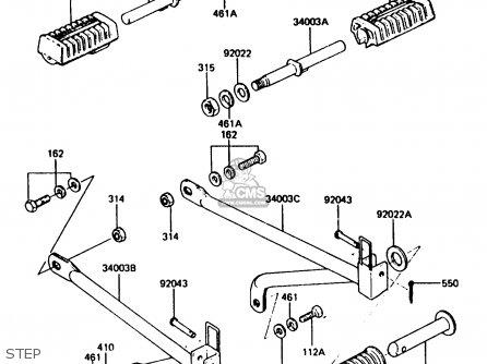 Kawasaki Ar80c5 1987 Usa   Mph Step