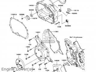 Kawasaki Fury Seat Cover