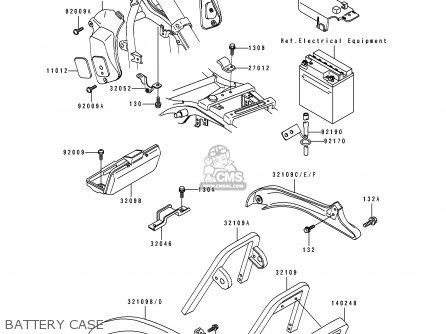 Kawasaki C Parts Diagram
