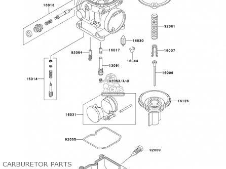 Kawasaki En500c7 Vulcan500ltd 2002 Usa California Canada Carburetor Parts