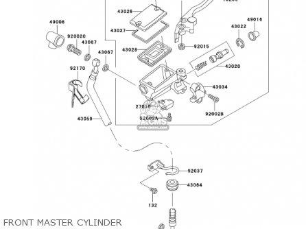 - Front Brake Lever Stop Switch Kawasaki ER-5 500 CC ER500C1 2001