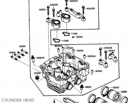 Kawasaki Ex250f2 Ninja 250r 1988 Usa California Canada Parts Lists
