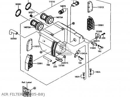air filter(ex305-b8)