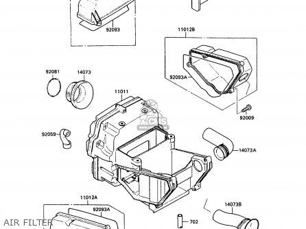 Kawasaki Gpz500s Wiring Diagram
