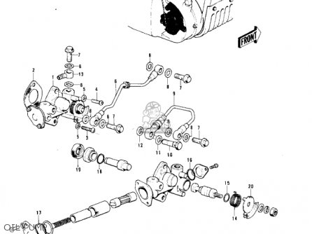 Kawasaki F11 1973 Usa Parts Lists And Schematics