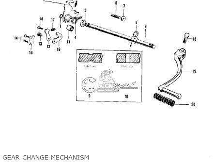 Kawasaki F4 SIDEWINDER 1969 USA parts lists and schematics