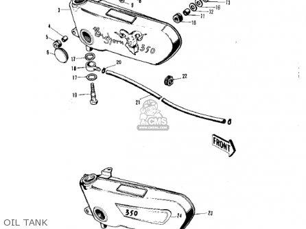 Kawasaki two stroke wiring diagram