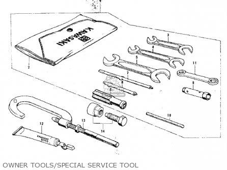 Kawasaki G3ssa 1971 Usa Canada Owner Tools special Service Tool