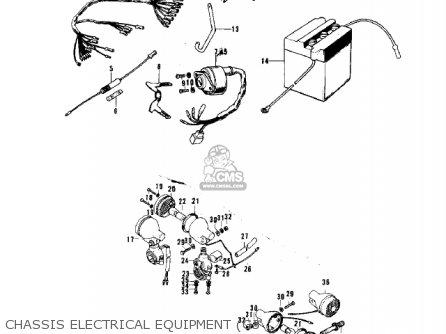 Kawasaki G3ssa 1971   Mph Kph Chassis Electrical Equipment g3