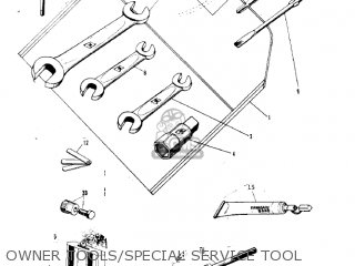Kawasaki G3ssa 1971   Mph Kph Owner Tools special Service Tool
