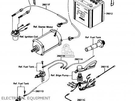 Kawasaki Jet Mate Wiring Diagram