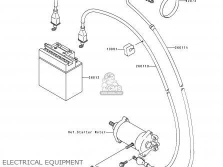 kawasaki 300 atv wiring diagram  kawasaki  free download