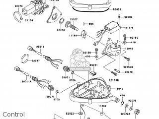 Kawasaki JH1100-A8 JETSKI1100 ZXI 2003 USA parts lists and