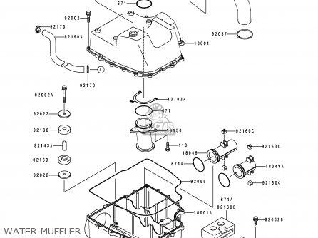 Kawasaki Jh750 B2 Jetskisupersportxi 1994 France Al Parts Lists And