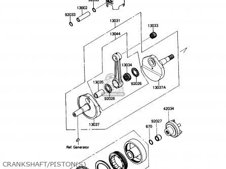 crankshaft/piston(s)