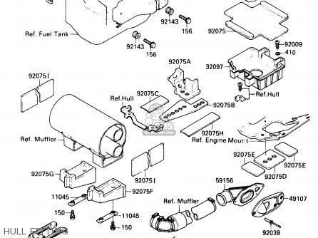Kawasaki 650sx Engine Parts Diagrams