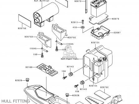 Kawasaki Js650 B2 Jetski650sx 1992 France Al Parts Lists And Schematics