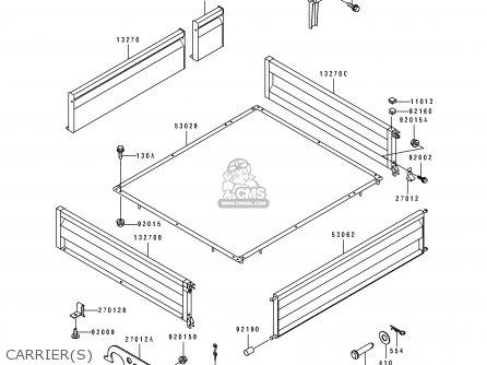 kawasaki kaf300 b2 mule500 1991 usa parts list partsmanual. Black Bedroom Furniture Sets. Home Design Ideas