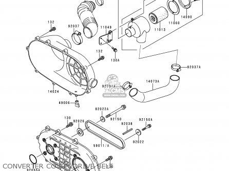 kawasaki mule rear brake diagram