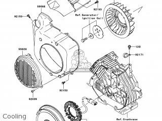 kawasaki kaf400 a9f mule610 2009 usa 4x4 parts lists and schematics Suzuki 400 4x4 kawasaki kaf400 a9f mule610 2009 usa 4x4 cooling