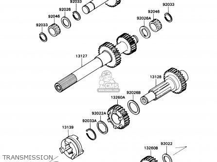 Kawasaki Kaf540c1 Mule2010 1990 Usa Parts Lists And Schematics. Kawasaki Kaf540c1 Mule2010 1990 Usa Transmission. Kawasaki. Kaf540c Kawasaki Mule Rear Axle Diagram At Scoala.co